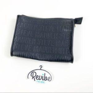 Steve Madden Black Logo Waist Small Bag Fanny Pack